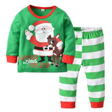 Christmas cotton long sleeve suit
