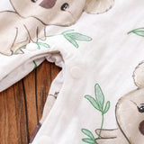 Baby Boy / Girl Koala Print Jumpsuit
