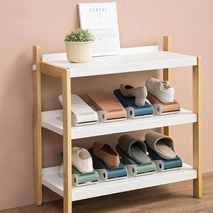 Fashionable and simple shoe storage rack
