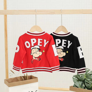 Baby Boy / Girl Popeye Long Sleeve Top