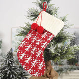 Christmas Decorations - Knitted Woolen Christmas Socks