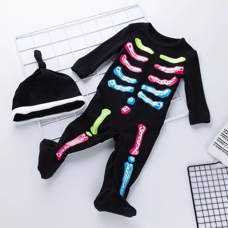 New Halloween Costume Newborn Kids Clothes Infant Clothing