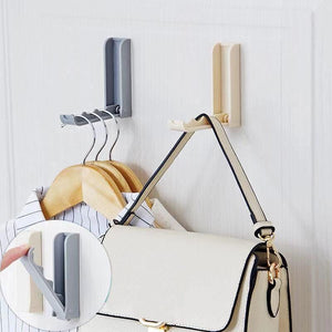 Creative strong adhesive folding coat hook-homeware