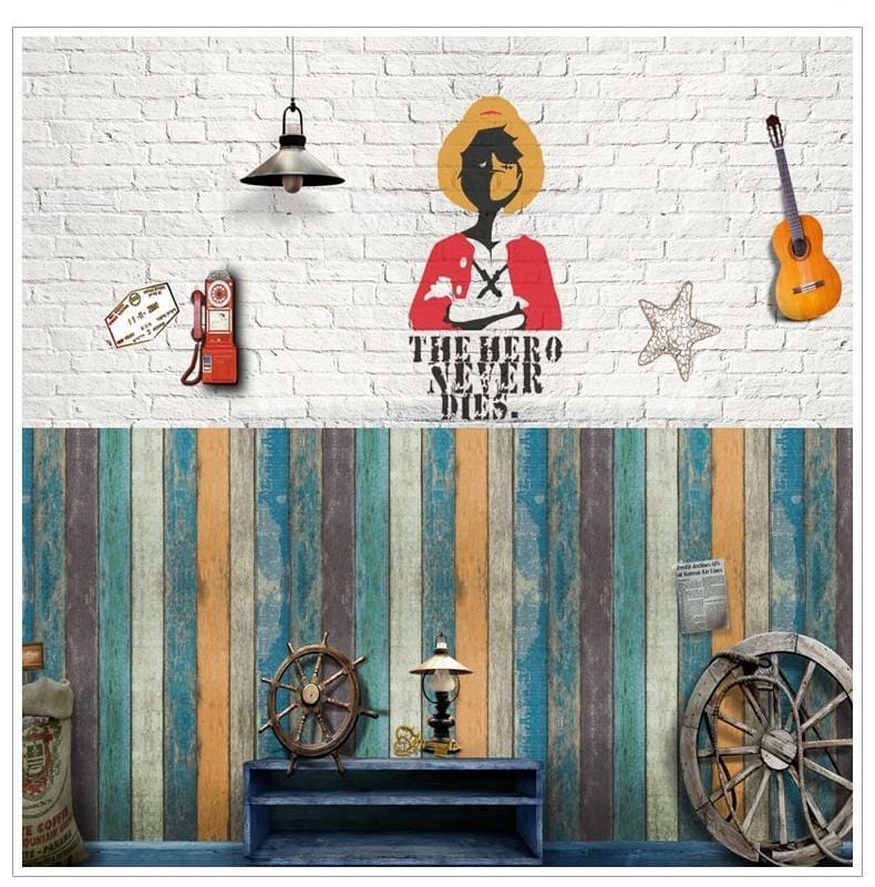 Removable 3D Sticky Wall Decor - Homeware