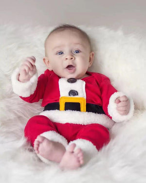 Santa Claus Long Sleeve Cotton Set