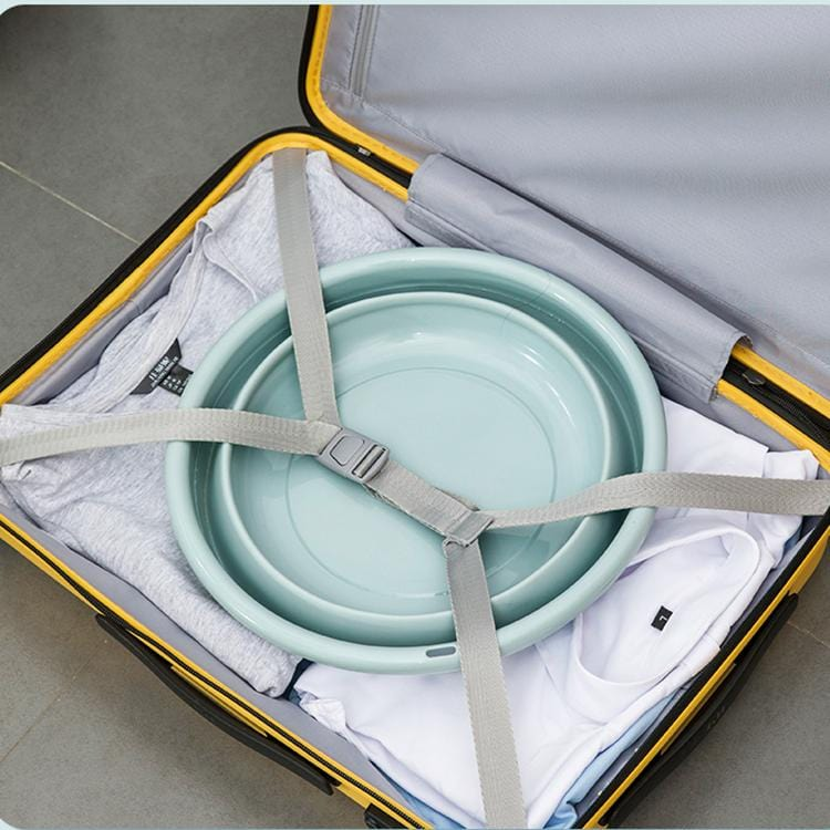 Creative design portable folding basin