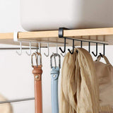 Multifunctional non-drilled iron hook