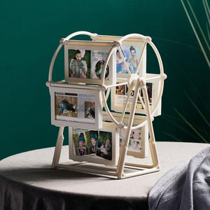 Creative Ferris wheel shape design can be rotated photo frame