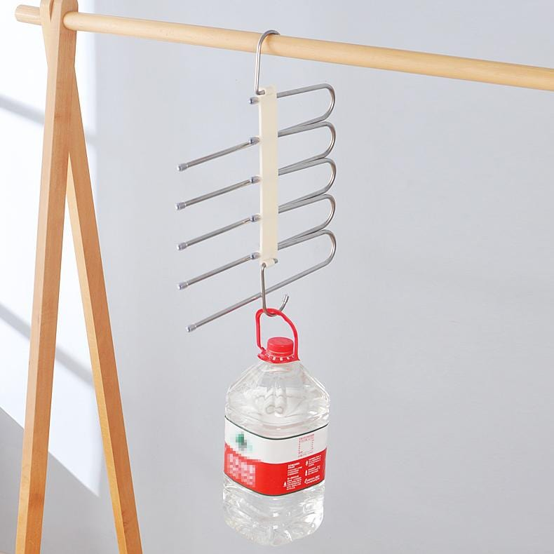 Multifunctional pants & scarf hanger
