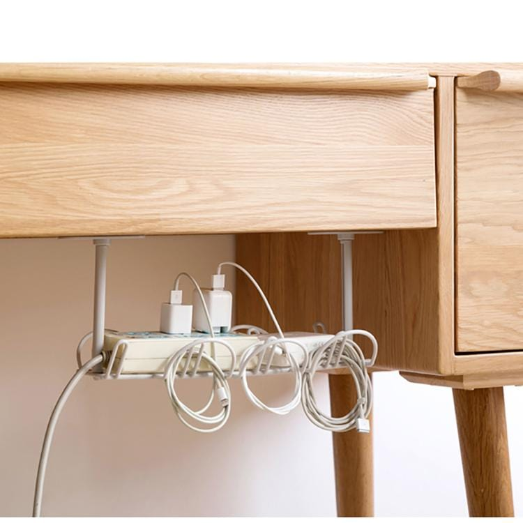 Powerful stick underneath table power cord hanging basket-Homeware