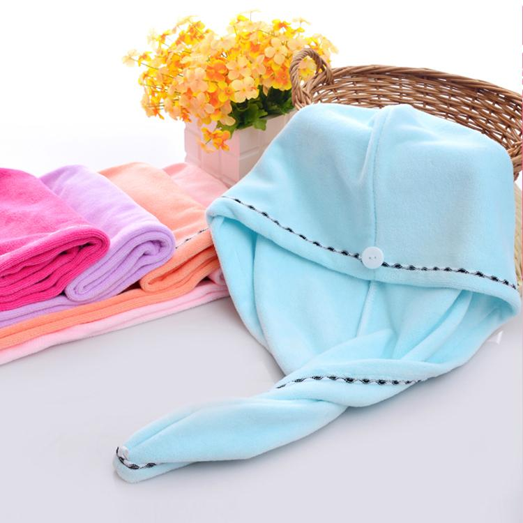 Super absorbent quick-drying towel hat-Home Supplies