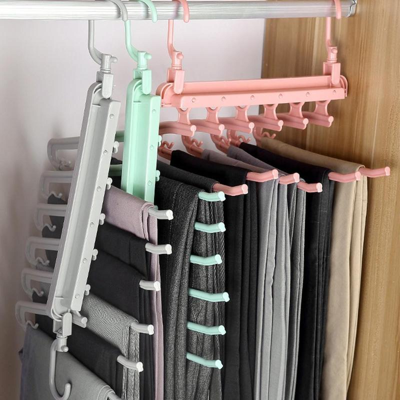 Reduced Space Folding Hangers-Home Supplies