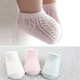 Spring Summer Mesh Baby Socks For New Born Unisex Kid Children Infant Boy Girl Short Socks