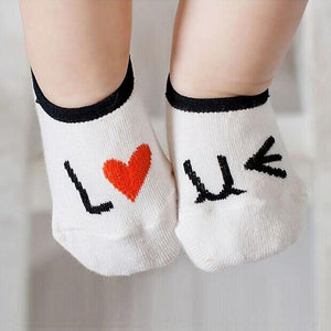 100% cotton socks for babies
