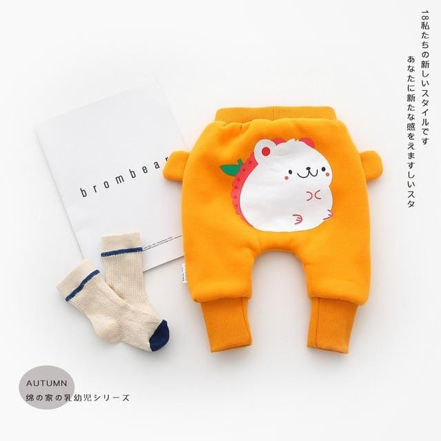 Baby winter clothes baby girls pants big bottoms trousers toddler leggings infant boys winter clothes toddler girls warm clothes