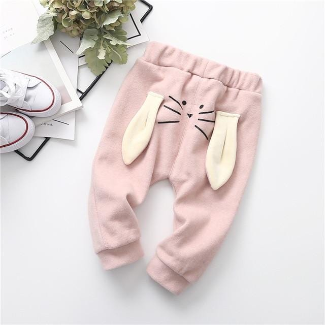 Baby rabbit variety of color trousers
