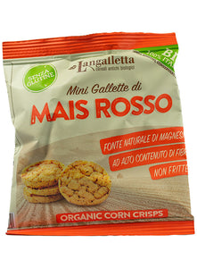Mini Gallette di Mais Rosso