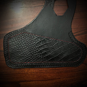 Heat Shield for Indian Scout Motorcycles, With Pouch, Alligator Print