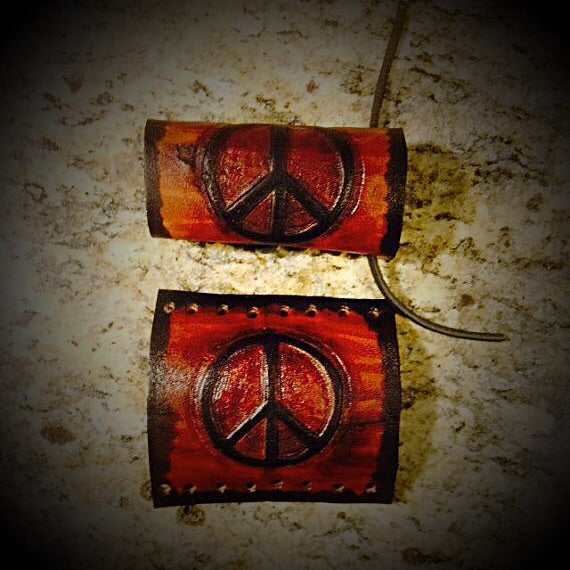 Grip Covers - Peace Sign