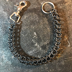 Chainmail Chain - Box Weave - Black