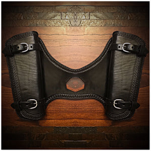 Heat Shield for  Indian Scout motorcycle - black