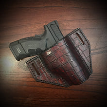 Load image into Gallery viewer, Holster With Alligator Print, Brown (ships now)