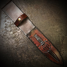 Load image into Gallery viewer, Knife Sheath - With Custom Art