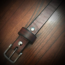 Load image into Gallery viewer, Leather Belt - Brown