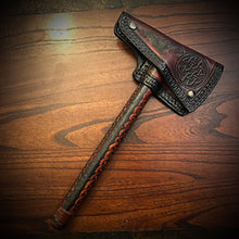 Load image into Gallery viewer, Viking Ax with Case - Custom Art.