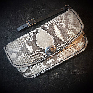 Clutch - Genuine American Alligator, Black