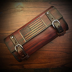 Tool bag for Motorcycle - Old Glory - Brown