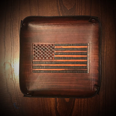 Everyday Carry Tray Old Glory Brown