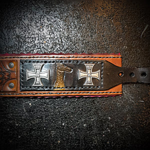 Dog Collar with German Military Insignia.