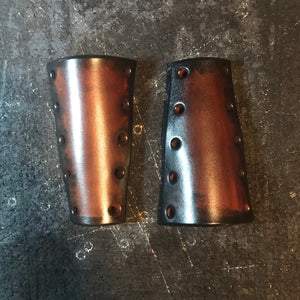 Brake & Clutch Leather Lever Covers - Custom Art