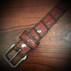 Build your own American Alligator Belt