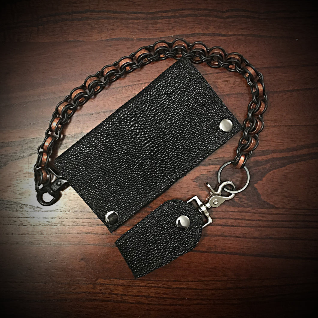 Long Wallet - Stingray - Black