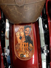 Load image into Gallery viewer, Fender Bib - Custom Art, Brown