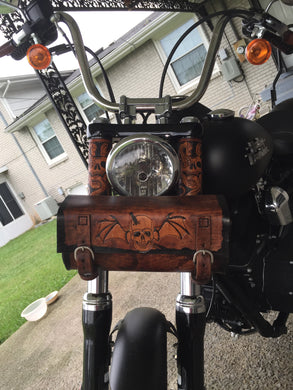 Motorcycle Fork Covers - Custom Art