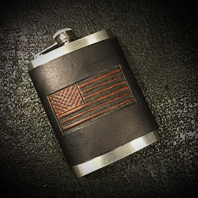Flask - Old Glory, Black