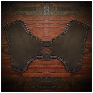Heat Shield for Indian Scout motorcycle - Custom Art, Black