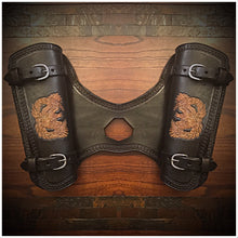 Load image into Gallery viewer, Heat Shield with 2 pouches for Indian Scout Motorcycle - Custom Art