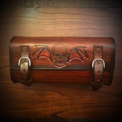 Tool bag for Motorcycle - Winged Skull