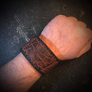 Cuff - Brown Elephant