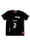 2 (Two) | Black T-shirt