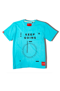Keep Going | Blue T-shirt