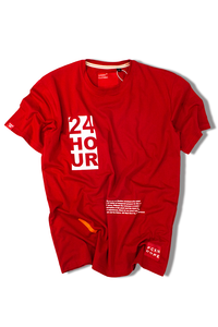 24 Hour | Red T-shirt