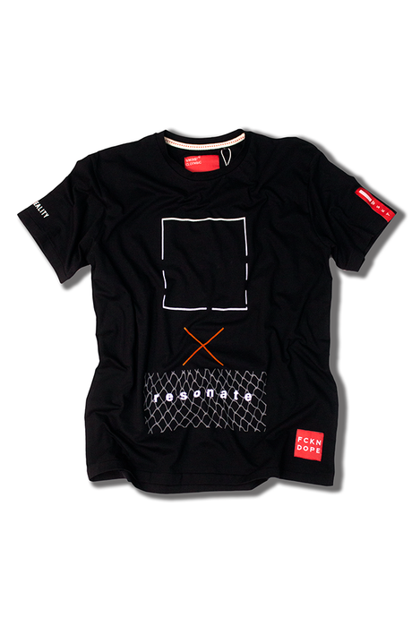 Resonate | Black T-shirt