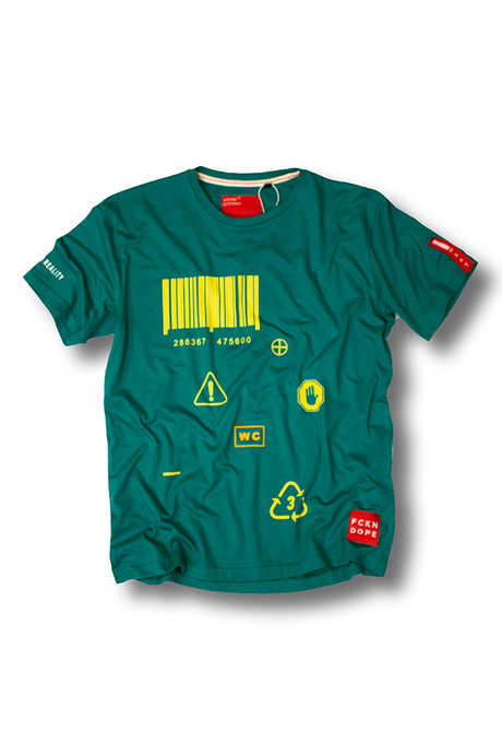 Barcode | Green T-shirt