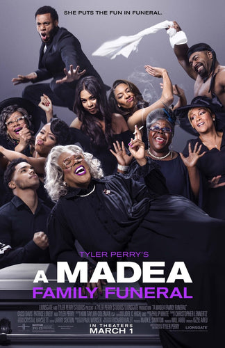 A Madea's Family Funeral  DVD Media