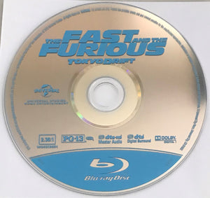 The Fast and the Furious Tokyo Drift  Blu-ray Media